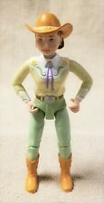 """Mattel LOVING FAMILY 5.75"""" COWGIRL Woman Girl Action Figure 2001 Poseable EUC"""