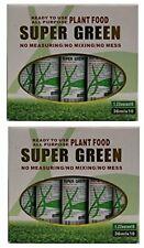 20 Bottles Lucky Bamboo Plant Fertilizer Plant Food Green Green