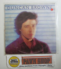 """Duncan Browne """"Streets of fire"""" LP LOGO GOL 1016 Italy 1979 VG/VG"""
