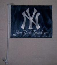 NEW 11X15in 2 SIDED NEW YORK YANKEES LIC. MLB BASEBALL STORE CAR WINDOW FLAG
