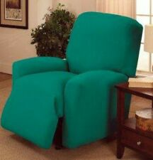 JERSEY RECLINER COVER-LAZY BOY ---AQUA---  FITS MOST CHAIRS --FREE SHIPPING