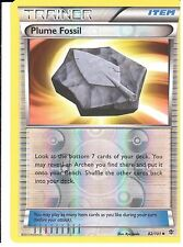 POKEMON BLACK AND WHITE PLASMA BLAST - PLUME FOSSIL 82/101 REV HOLO