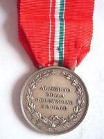2 Medaglia al merito della redenzione sociale in bronzo argentato