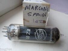 EZ81 MARCONI SPAIN  NOS  VALVE TUBE