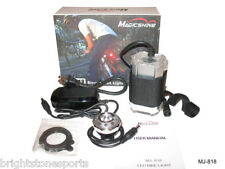MagicShine MJ-818 3w LED Bike tail Light & MJ828 LCD Li-ion Battey Pack