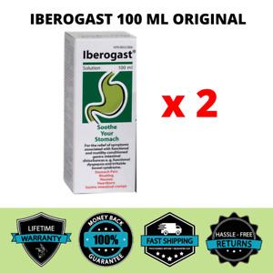 Iberogast 100 ml Drops STOMACH PAIN, BLOATING, GASTRO-INTESTINAL CRAMPS EU х 2