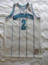 Mitchell Ness M&N Authentic Charlotte Hornets Larry Johnson jersey sz 48 OG XL