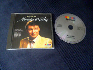 CD Karel Gott MEISTERSTÜCKE Best Of Greatest Hits Collection Babicka Biene Maja