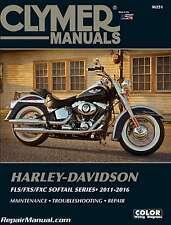 Harley-Davidson FLS/FXS/FXC Softail Series 2011-2016 Clymer Motorcycle Repair...