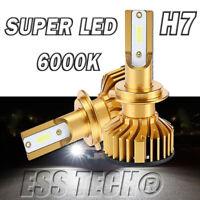 Ampoule LED H7 6000K Blanc 12/24V 10000LM Lampe Canbus OBD ESS TECH® X2 Phares