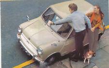 Readers Digest Publicity Postcard Austin Mk 2 Mini is the prize FAIR CONDITION