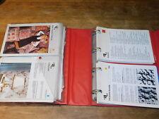 1974 classeur VINTAGE fiche PATRON ouvrages du CLUB des AIGUILLES couture tricot