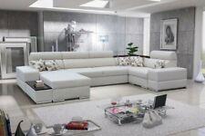 Brand New Modernistic U Shaped Sofa Bed AGOTA - Sleeping + Storage Function