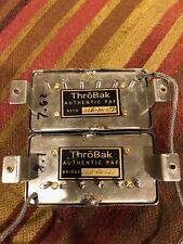 Throbak SLE-101 LTD Humbucjers PAF NOS wire set