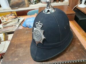 british bobby hat obsolete humberside police ball top.
