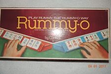VINTAGE 1977 RUMMY-O THE GAME of WORLD ACCLAIM by CARDINAL 100% Complete EXCELNT
