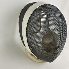 Vtg Santelli Nyc Fencing Sport Wire Mesh Face Mask Guard Helmet Equipment Gear