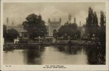 British Empire Exhibition The Indian Pavilion Real Photo Postcard