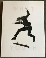 NEW Dylan Rieder Memorial Book Magazine What Youth Skateboard Male Model SoCal