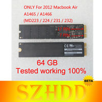 "64G THNSNS064GMFP SSD 17+7pin For Apple MacBook Air 11"" A1465 13"" A1466 Mid 2012"