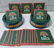 More details for vintage 2 john smiths ashtrays & 20 beer mats - beer pub bar man cave bundle vgc