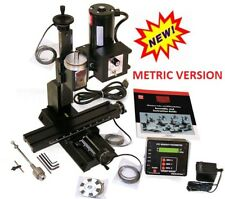 Sherline 5410-DRO METRIC Deluxe Mill Oil reservoirs on all axes. (5400-DRO INCH)