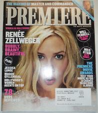 Premiere Magazine Renee Zellweger & Will Ferrell November 2003 031015R