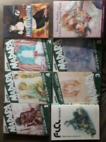LOT OF 8 MANGA BOOKS madara.FlCl.angel para.kisssighscherryblossom.ENGLISH