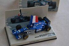 F1 Ligier Mugen Honda JS 43 Olivier PANIS 1996 winner Monaco GP (1/43)