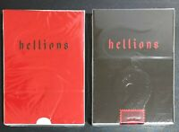 Bicycle Ellusionist Combo Red  + V3 Hellions US Playing Cards Magic Poker