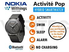Withings Hybrid Smart Watch Workout Sleep Steps Swim Fitness Activity Tracker