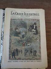 (Genre LE PETIT JOURNAL) LA CROIX ILLUSTREE 1907 lot de 45 NUMEROS