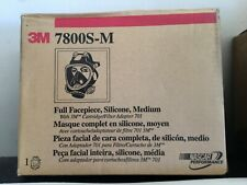 3M 7800S-M 7800S Series M Full Face Respirator NEW IN BOX