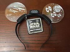 Disney Animate Star Wars Light Up Headband Mickey Ears - NEW - HOT ITEM AT PARK