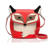 KATE SPADE Blaze A Trail Fox Crossbody Purse Character Bag SOLD OUT IN STORES!