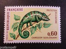 FRANCE - 1971 - yvert 1692 - animaux, Caméléon - neuf**