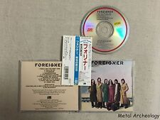 Foreigner - Foreigner JAPAN EARLY CD (20P2-2018) OBI