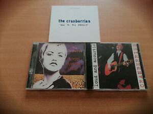 THE CRANBERRIES-LOT CD-2 LIVE-1 DOUBLE CD SINGLE
