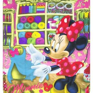 Minnie Mouse Fleece Blanket Throw