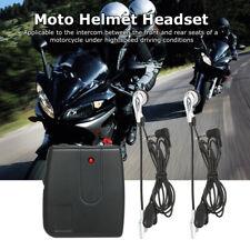 Motorbike Motorcycle Helmet 2-way Intercom Headset Headphone Communication N1T2