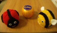 Knitting Pattern Ladybird & Bumble Bee chocolate orange cover AND WOOL