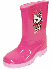 Hello Kitty Girls' Wellington Boots Synthetic Slip-on Shoes