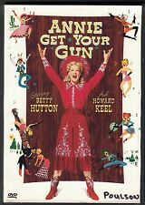 Annie Get Your Gun (DVD, 2000, 50th Anniversary Edition) VG+ Free Next Day Ship