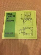 Stave Churches In Norway Gunnar Bugge 1983 Dreyer Softcover
