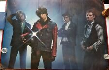 THE PRETENDERS 1980 CONCERT POSTER BY FIN COSTELLO BIG'O POSTERS MADE N ENGLAND