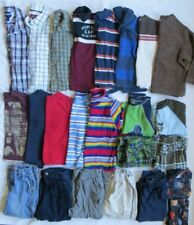 Baby GAP TCP Old Navy Carters Boys LS Shirts Pants 24 Piece Lot Fall Winter 4T