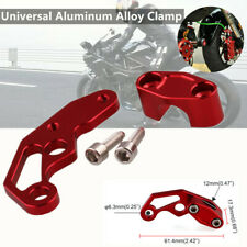 1PCS Motorcycle Modified Parts Wire Clip Oil Pipeline Clamp Aluminum Alloy Clamp
