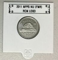 CANADA 2011 New 5 cents (BU directly from mint roll)