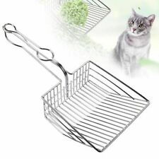 Litter Scoop Stainless Steel Metal Pooper Scooper Pet Cleaning Tool Supplies