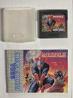 Shinobi II 2 The Silent Fury Sega Game Gear Game With Official Case & Manuel